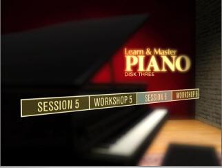 piano-DVD menu
