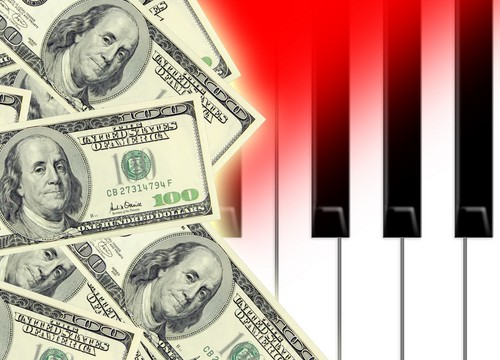 Money piano