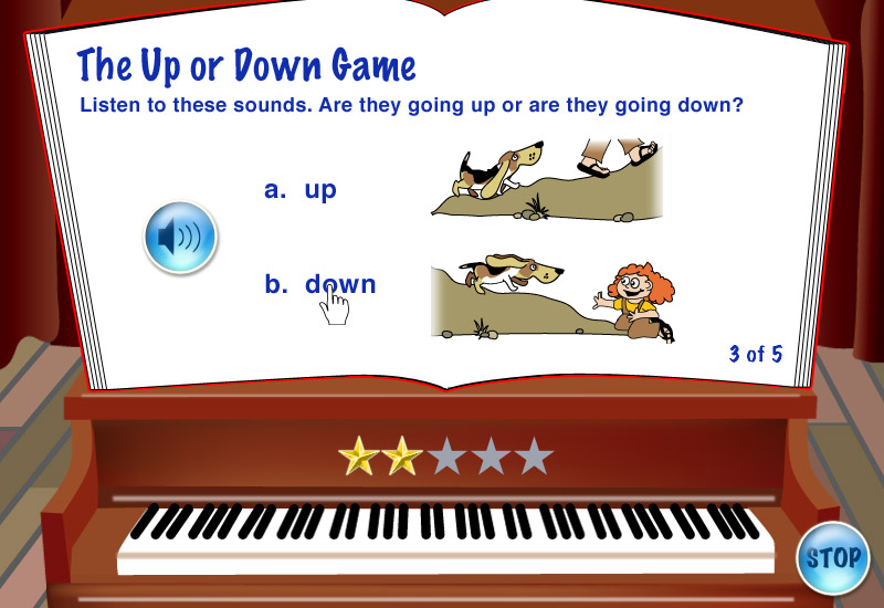 My Piano game screen 2